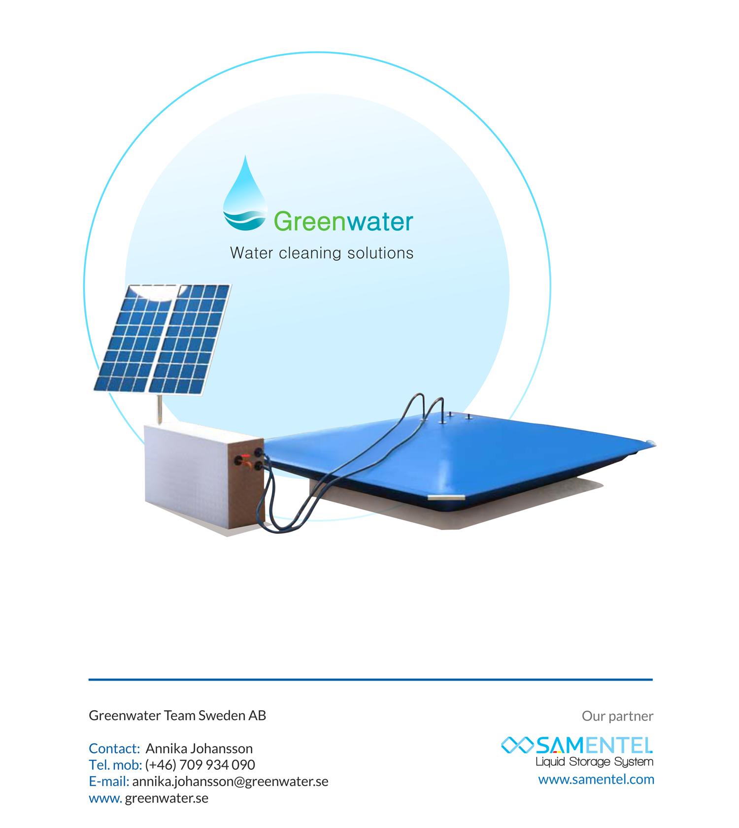 Greenwater KIT-Samentel reservoir