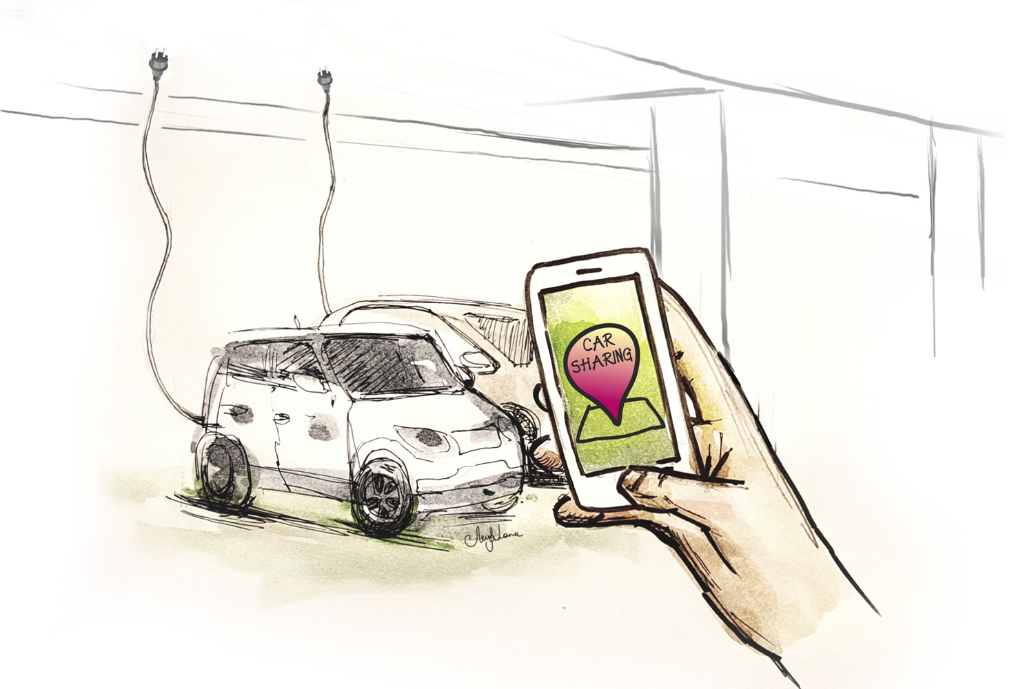 illustration-by-lanagraphic-smart-city-parking-car-sharing