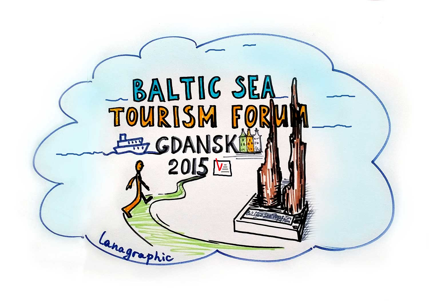 tourism-forum-in-Gdansk-by-Lanagraphic