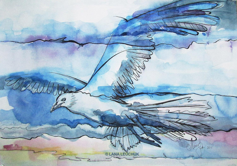 Flying-Lana Leuchuk-Lanagraphic