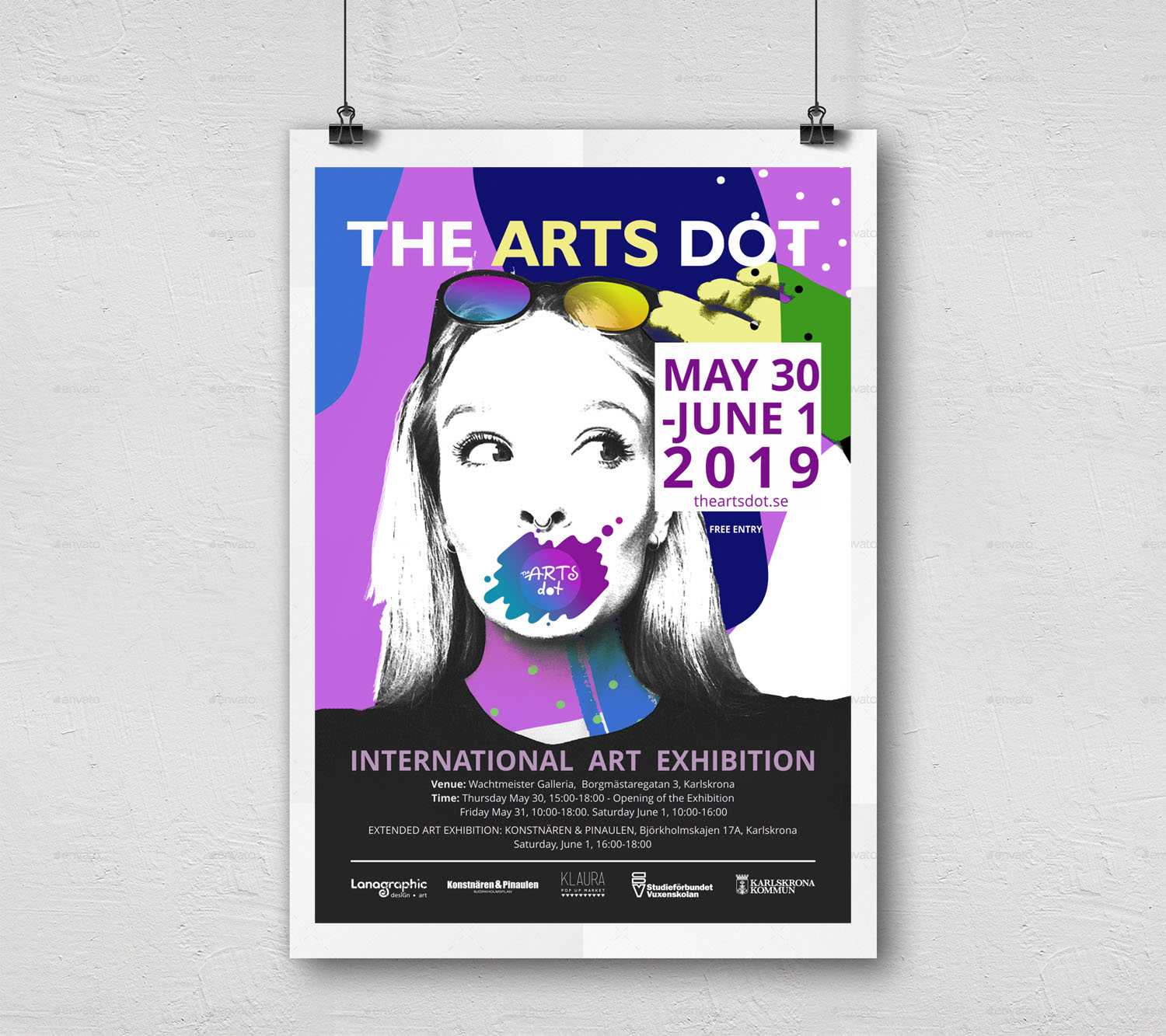 Wall-Poster-theartsdot-1-by Lanagraphic