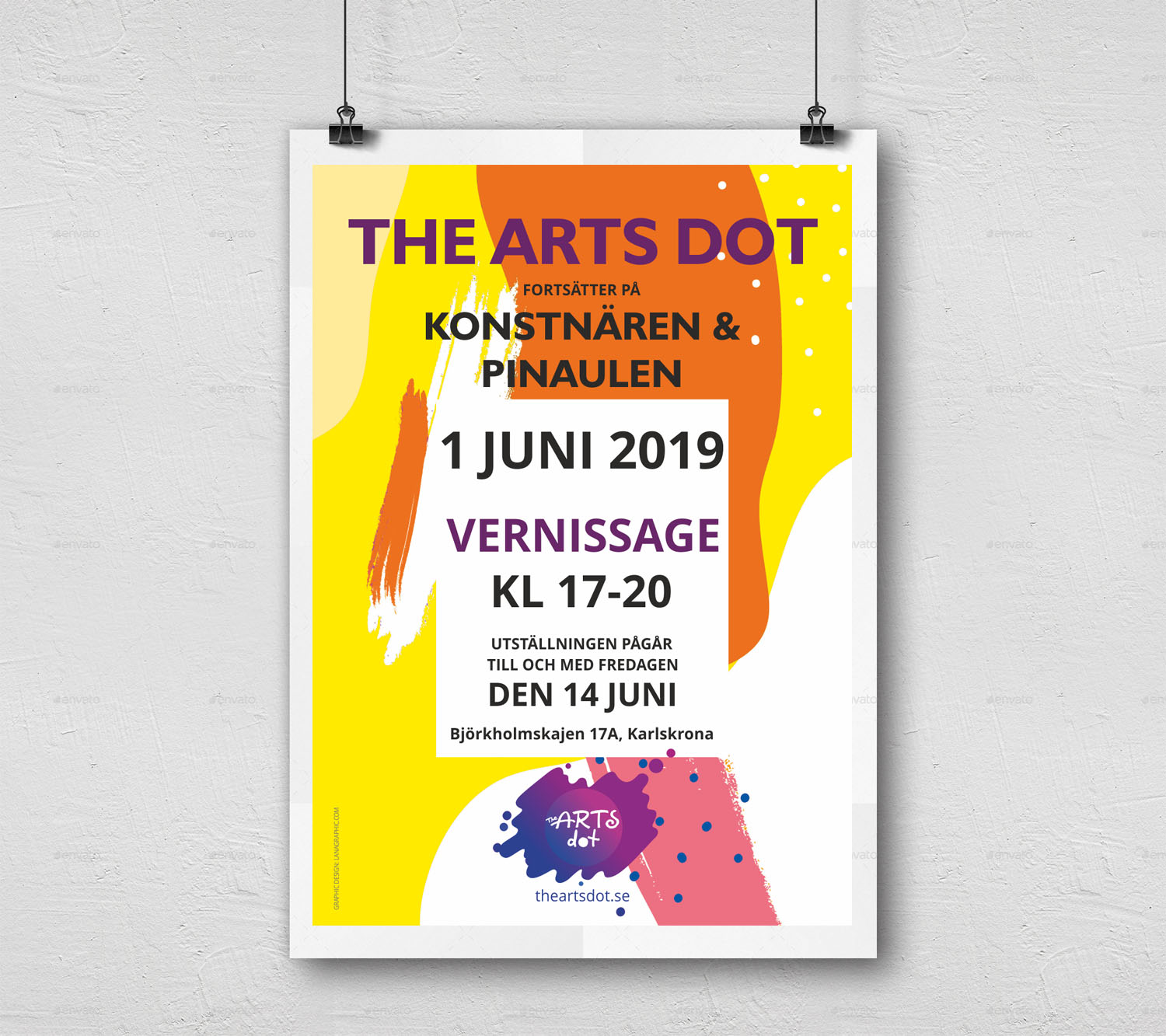 Wall-Poster-theartsdot-2-by Lanagraphic
