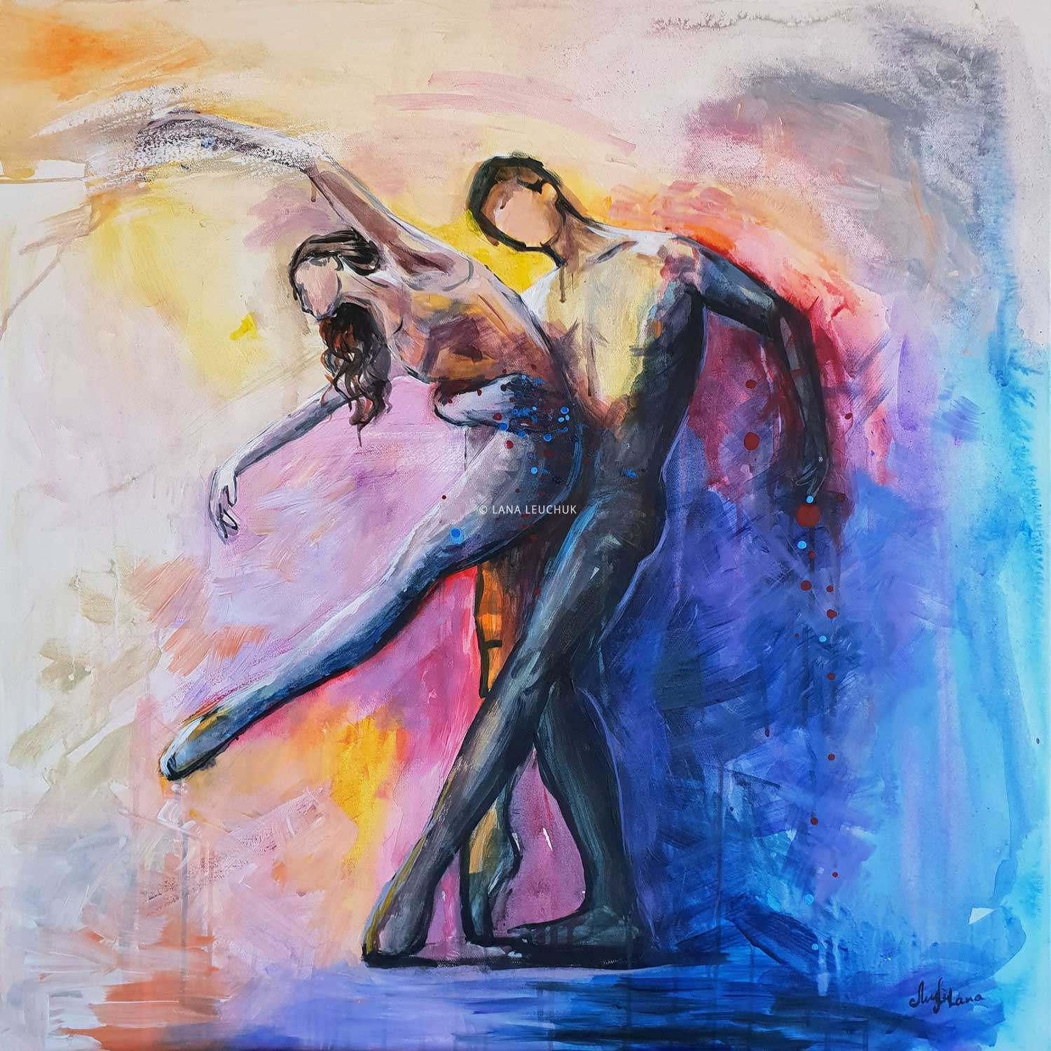 Dancing-with-a-Stranger-painting-by-Lana-Leuchuk