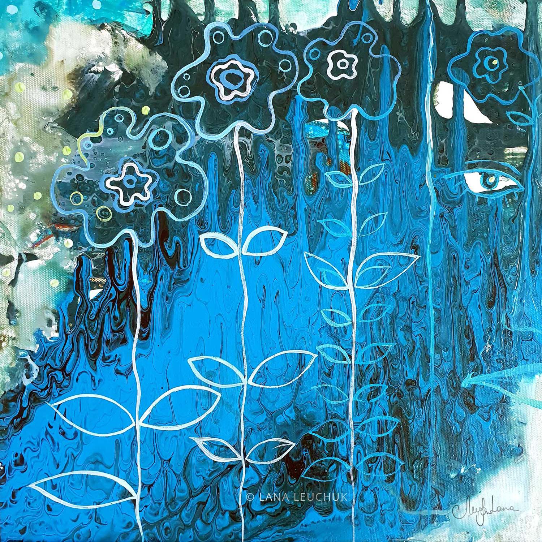 Sea Of Blue-by Lana-Leuchuk-Lanagraphic