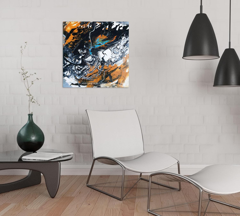 wall art in interior