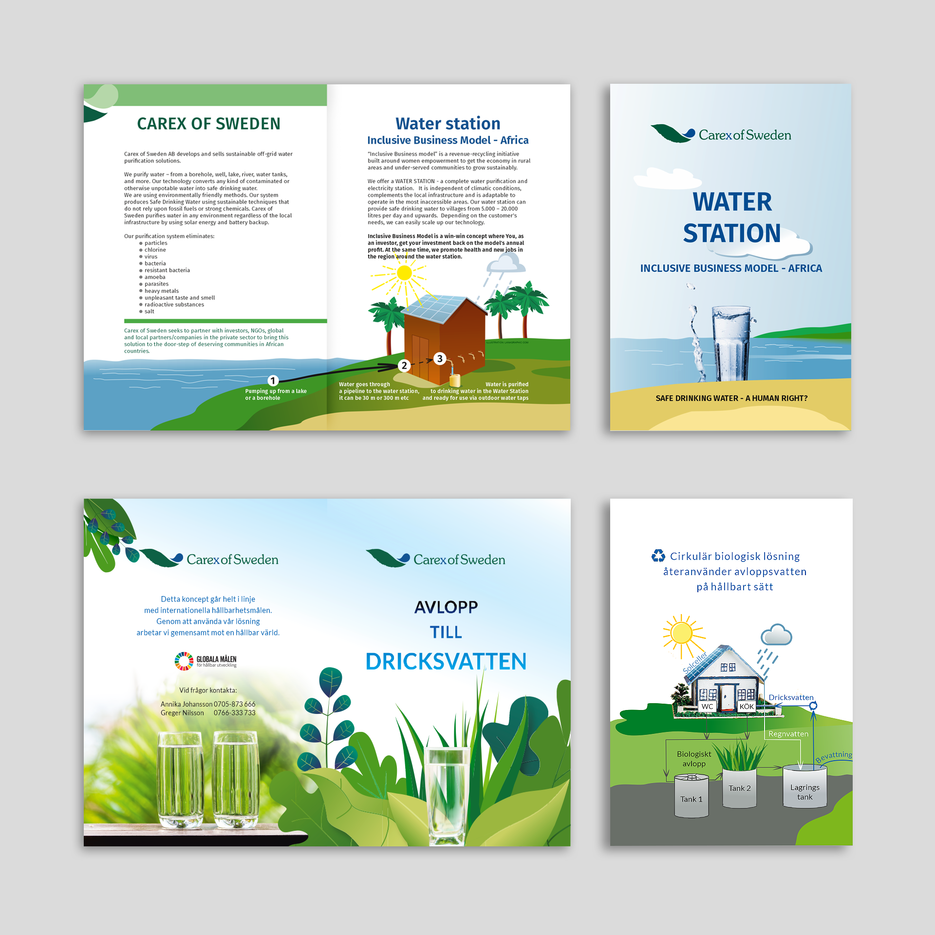 Brochures-Carex of Sweden-by Lanagraphic